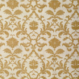 Thibaut Anita Damask Metallic on Natural F98636