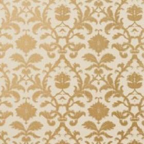 Thibaut Anita Damask Metallic on Tan T8636