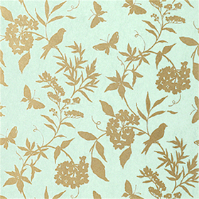 Thibaut April Aqua with Metallic Gold T4748
