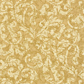 Thibaut Ardmore Scroll Metallic on Gold T3861
