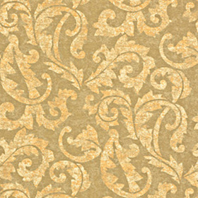 Thibaut Ardmore Scroll Metallic on Taupe T3862