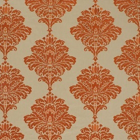 Thibaut Arturo Damask Orange W713013