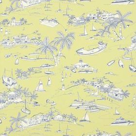 Thibaut Bahamas Citron and Navy T5757
