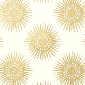 Thibaut Bahia Metallic Gold-Cream T35143