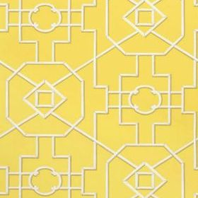 Thibaut Bamboo Lattice Yellow T36155