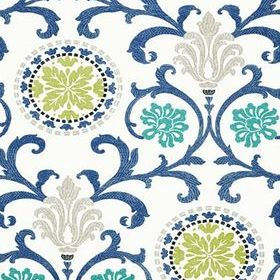 Thibaut Banyan Green and Blue T64103