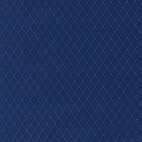 Thibaut Beaded Trellis Navy W79226