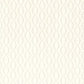 Thibaut Beaded Trellis White T1853