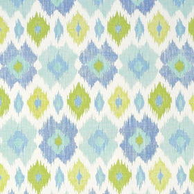 Thibaut Bimini Ikat Blue and Green F95728