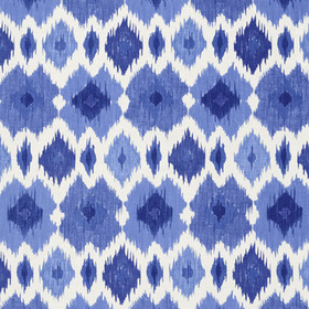 Thibaut Bimini Ikat Blue and White F95732