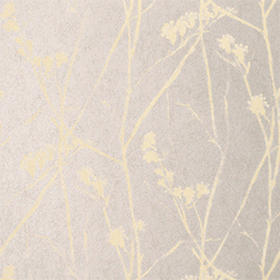 Thibaut Blossoms Pewter T7012