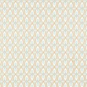 Thibaut Bribie Coral and Turquoise T16059