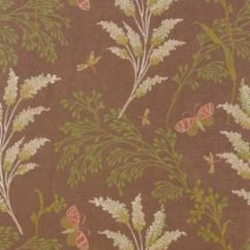 Thibaut Butterfly Garden Brown T9261