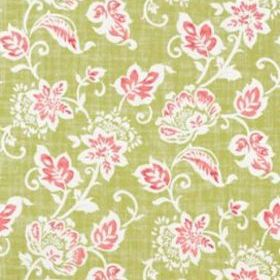 Thibaut Candise Pink and Green T9175