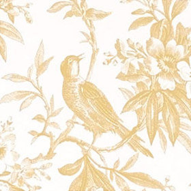 Thibaut Chelsea Morning Toile Yellow-White T7333