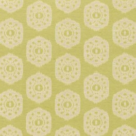 Thibaut Circle Ikat Apple Green W74143