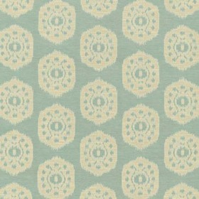 Thibaut Circle Ikat Sea Glass W74144