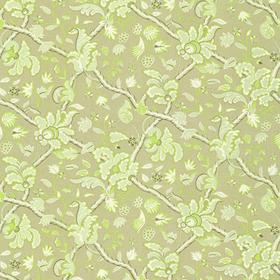 Thibaut Denmark Green and Beige F96034