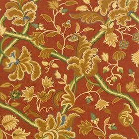 Thibaut Denmark Red and Cream 839T6032