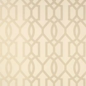 Thibaut Downing Gate Pearl on Cream T10042