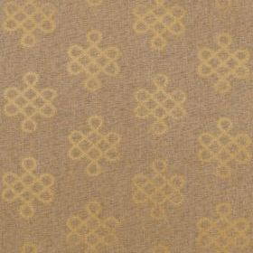 Thibaut Endless Knot Metallic Gold T3627
