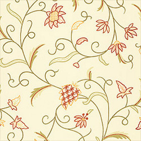 Thibaut English Crewel Cream T3323