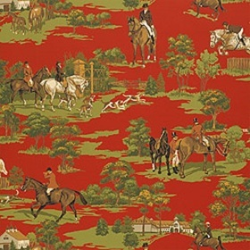 Thibaut Equestrian Red F96345