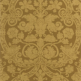 Thibaut Fortune Damask Brown T1741
