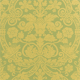 Thibaut Fortune Damask Green T1738