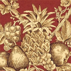 Thibaut Fruit Bouquet Red T7325