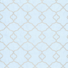 Thibaut Gibraltar Embroidery Blue W72772
