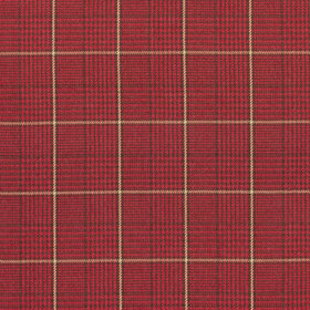 Thibaut Grassmarket Check Red W710204