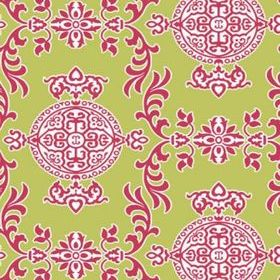 Thibaut Halie Green and Raspberry T36112