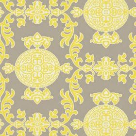 Thibaut Halie Grey and Lemon T36115