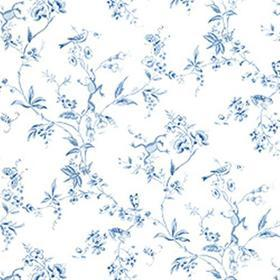 Thibaut Happy Frogs Blue and White T6112