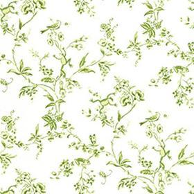 Thibaut Happy Frogs Green on White T6116