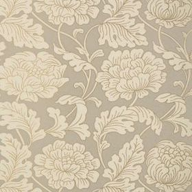 Thibaut Hathaway Pewter on Putty T10076