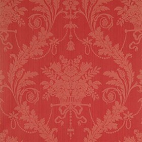 Thibaut Historic Damask Red T6973
