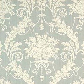 Thibaut Historic Damask Teal T6974