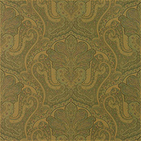 Thibaut Indienne Paisley Green T5609