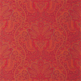 Thibaut Indienne Paisley Red T5608