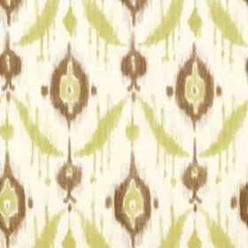 Thibaut Island Ikat Brown and Green T9166