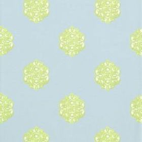 Thibaut Ivana Blue and Green T8615