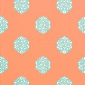 Thibaut Ivana Coral and Turquoise T8612
