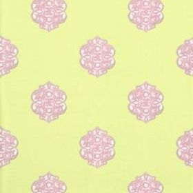 Thibaut Ivana Green and Lavender T8613