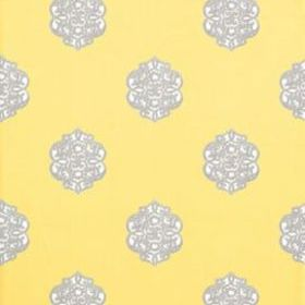Thibaut Ivana Yellow and Grey T8614