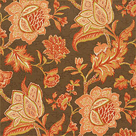 Thibaut Jacobean Trail Brown T3308