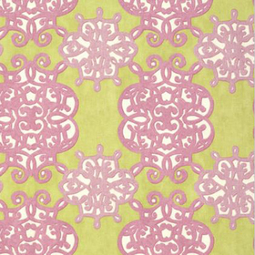 Thibaut Jakarta Green and Lavender F98613