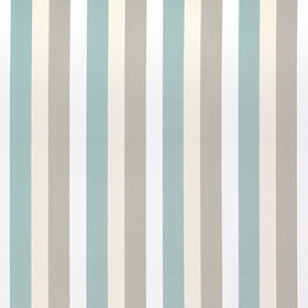 Thibaut Jayanti Stripe Aqua and Flax W764117