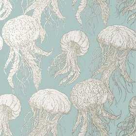 Thibaut Jellyfish Bloom Aqua T13170